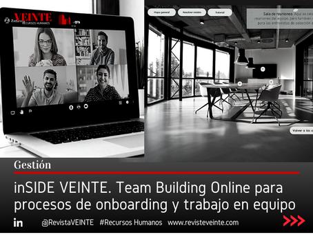 inSIDE VEINTE. Team Building Online para procesos de onboarding y trabajo en equipo