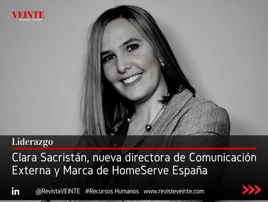 Clara Sacristán, nueva directora de Comunicación Externa y Marca de HomeServe España