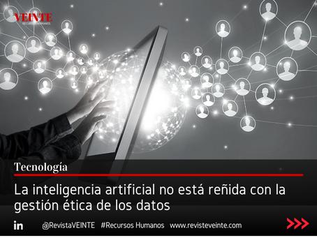 La inteligencia artificial no está reñida con la gestión ética de los datos