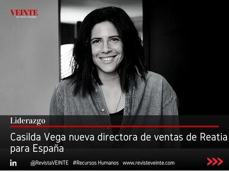 Casilda Vega nueva directora de ventas de Reatia para España