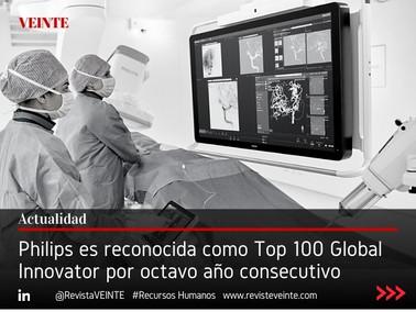 Philips es reconocida como Top 100 Global Innovator por octavo año consecutivo