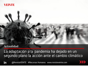 La adaptación a la pandemia ha dejado en un segundo plano la acción ante el cambio climático