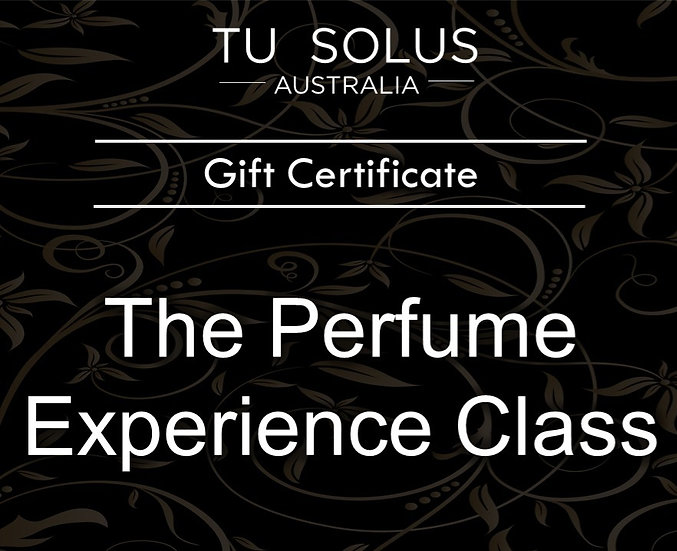Perfume Experience Gift Certificate