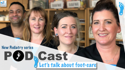 Diabetic foot care podcast