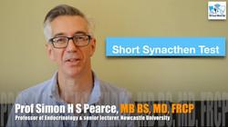 Short Synacthen Test SST Professor Simon Pearce Endocrinology Newcastle