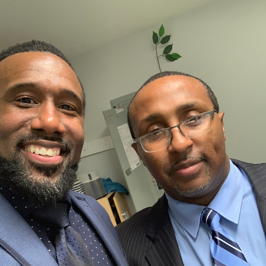 Marcus & Pastor Terrell Green