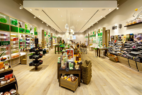 The Body Shop Open Kitchen store redesign