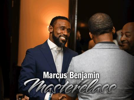 Marcus Benjamin Masterclass RSVP