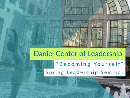Becoming Yourself - Leadership Seminar