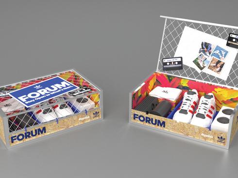 Adidas Forum Influencer Campaign