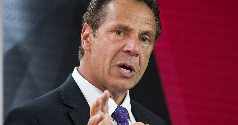 governor of New York courting Amazon