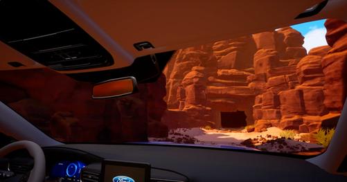 Explorer 4D VR experience