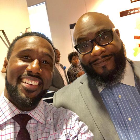 Marcus & Bishop Robert Brown
