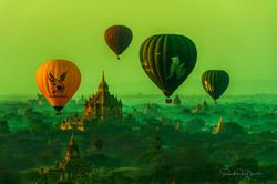 Morning in Bagan