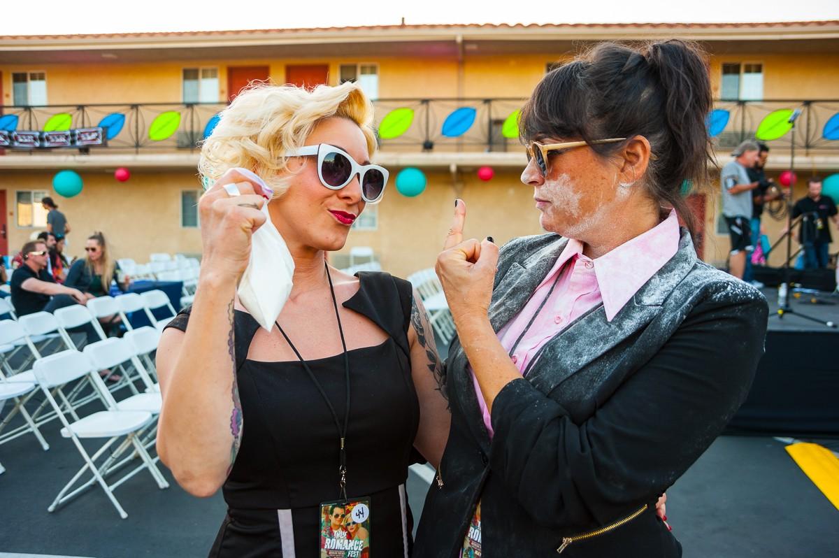 Elliot and Carla ... Candi? Candi!