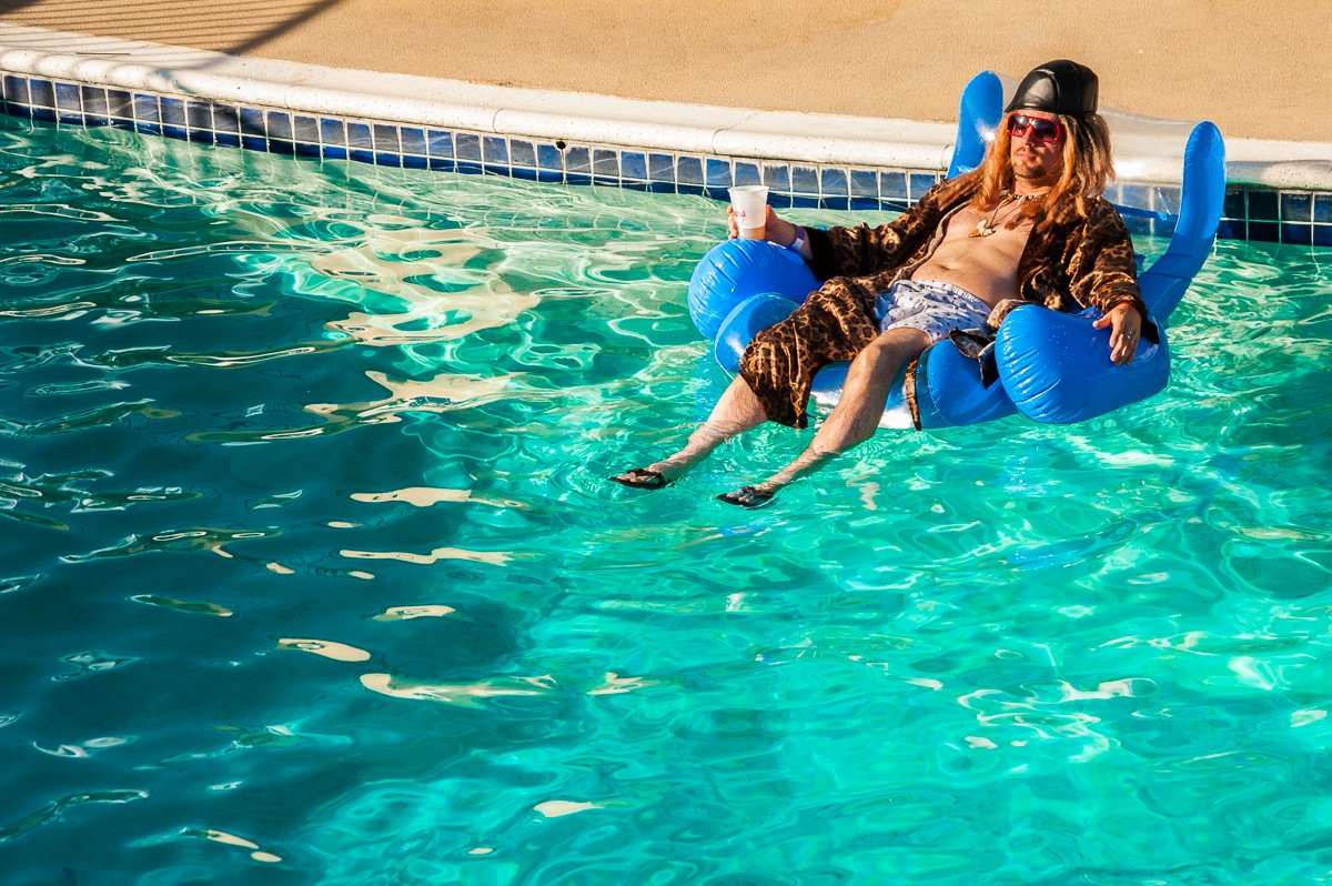 Are you cooler the Drexl in a pool?