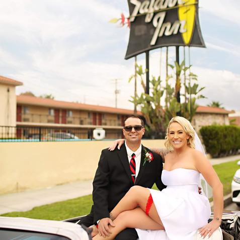 Safari Inn wedding