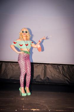 Costume contest contestant