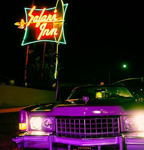 Safari Inn photo shoot