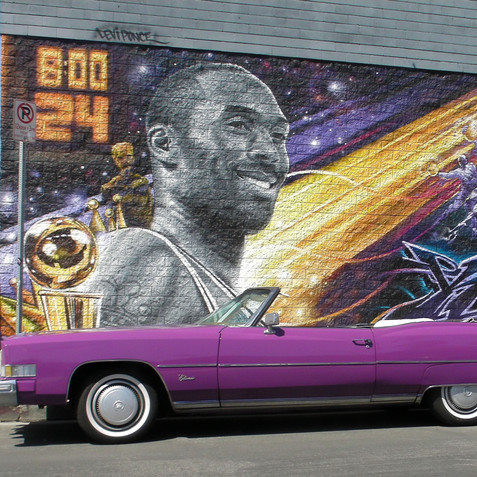 Kobe Bryant mural #1