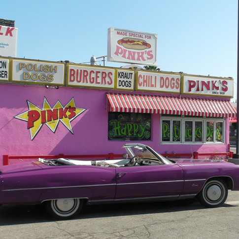 Pink's Hot Dogs and Burgers