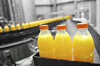 Orangensaft Fabrik