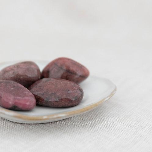 Rhodonite Tumbled Stone