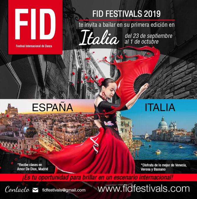 FBR Dice Presente en FID Festivals 2019