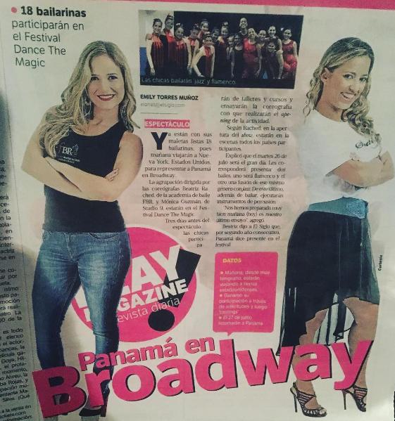 Y nos vamos a Broadway!!!