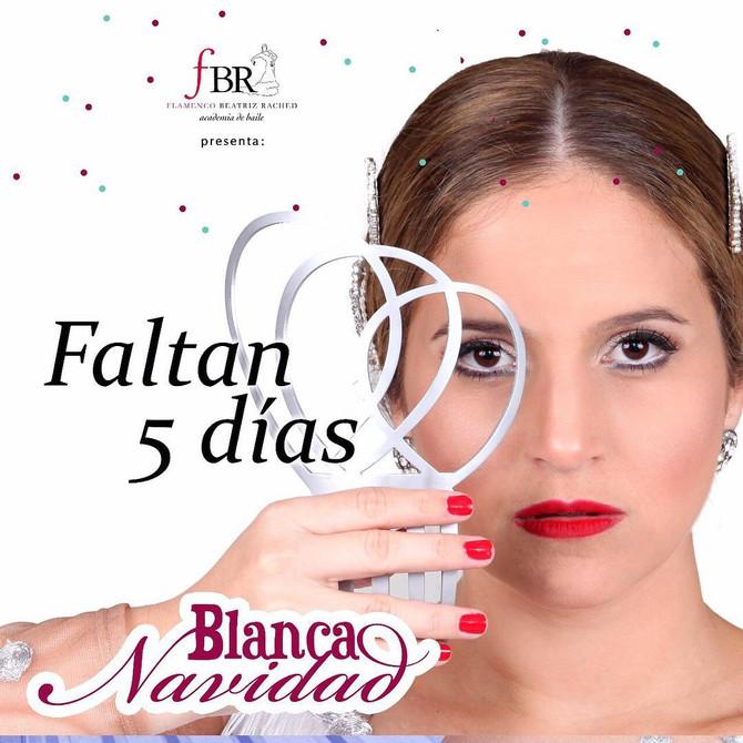"""Faltan solo 5 días para """"Blanca Navidad"""""""