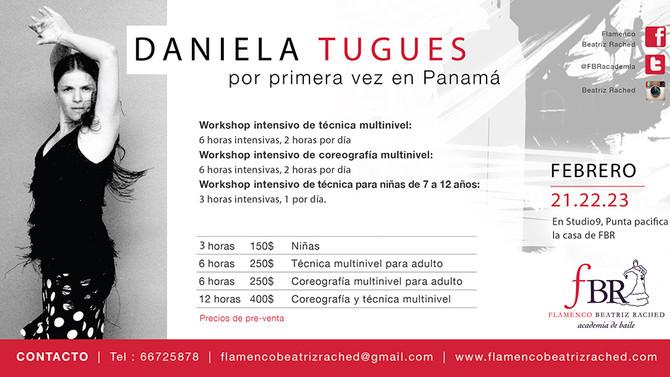 Daniela Tugues en FBR Panamá