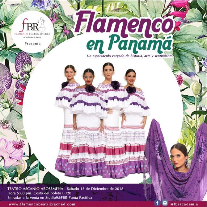 """FBR presenta """"Flamenco en Panamá"""""""