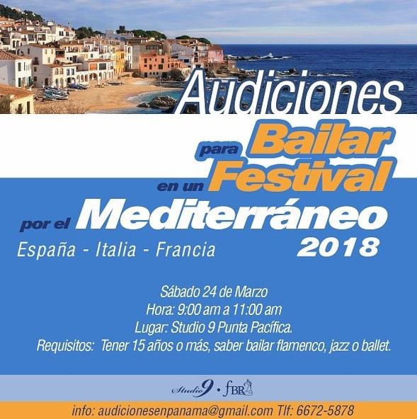 AUDICIONES para bailar en España, Italia y Francia!