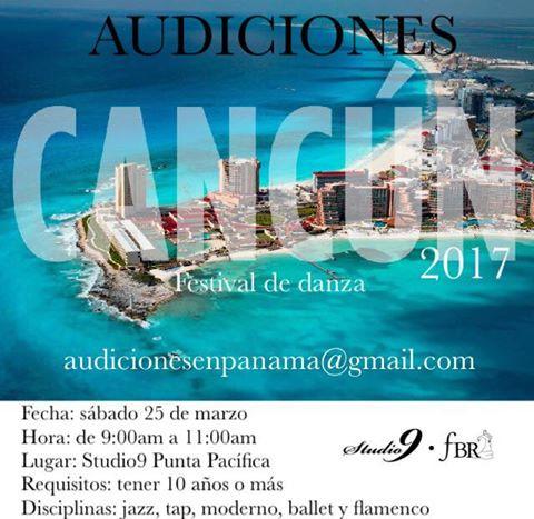 ¡Audiciones para Cancún!