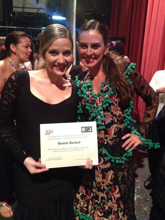 Beatriz Rached: 20 años de esfuerzo flamenco reconocido