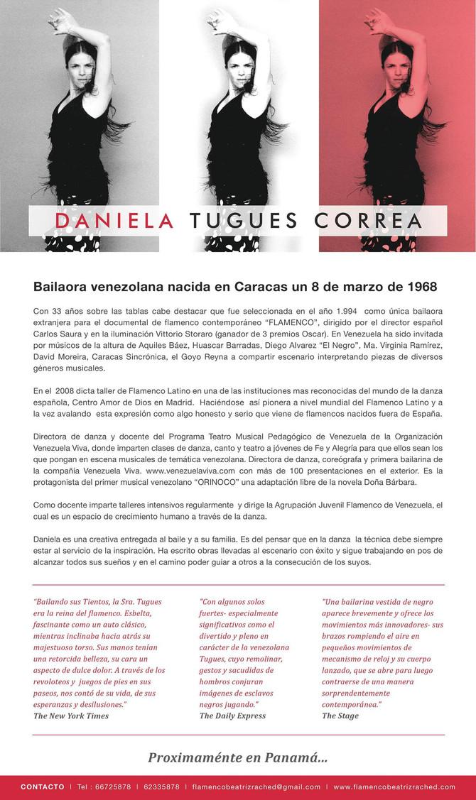 Biografía de Daniela Tugues Correa