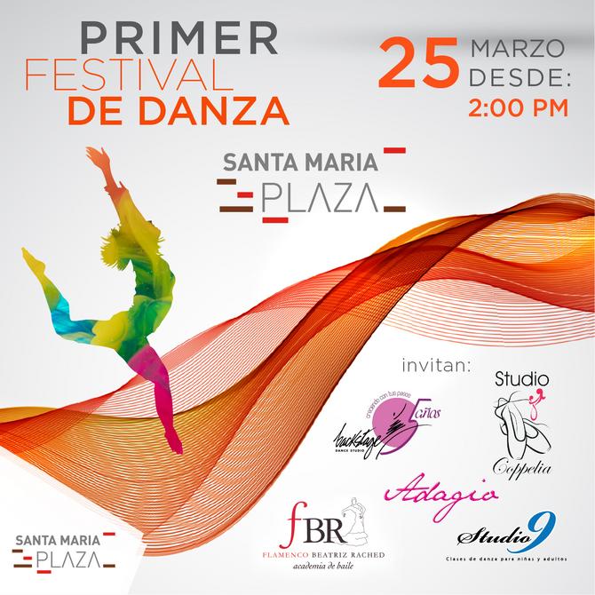 Primer Festival de Danza Santa Maria Plaza