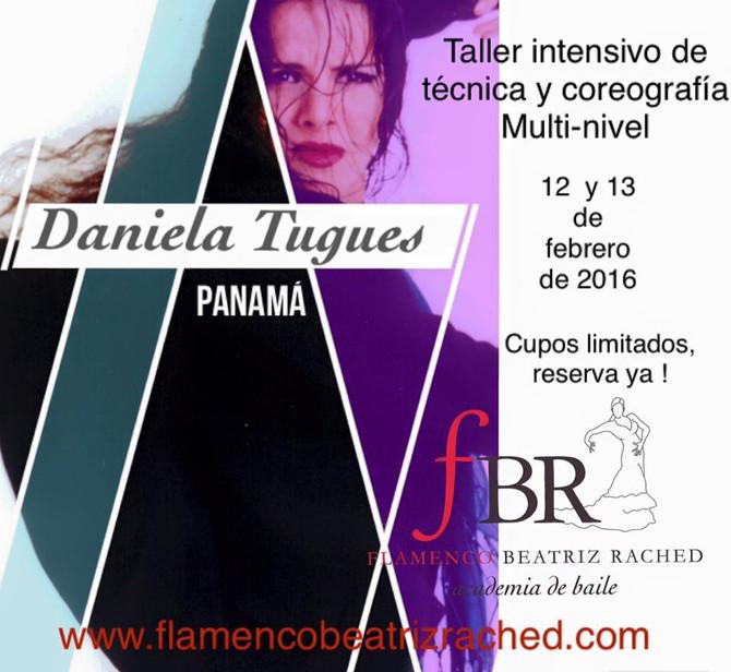 DANIELA TUGUES EN PANAMÁ