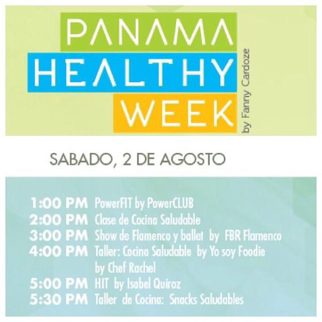 Show Flamenco en el Panamá Healthy Week