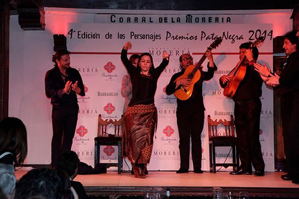 Eva Yerbabuena recibe un Premio Pata Negra 2014