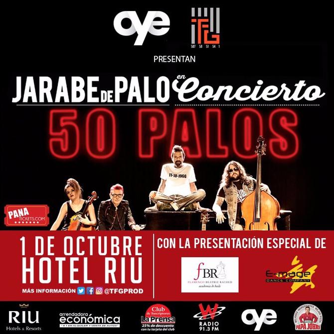 FBR & E-Mage abrirán concierto de Jarabe de Palo en Panamá