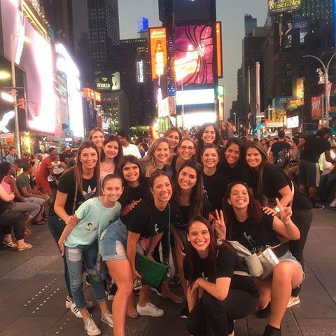 Todo un éxito nuestra presentación en Broadway NY!!