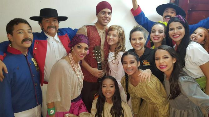 """FBR presente en la obra del Colegio Real: """"Zorro"""" el musical."""