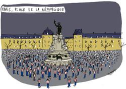 Place de la République / Charlie
