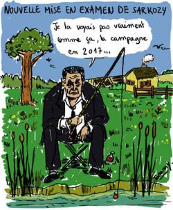 Nouvelle mise en examen de Sarkozy