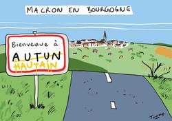 Macron en Bourgogne