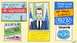 Macron, Président directeur général