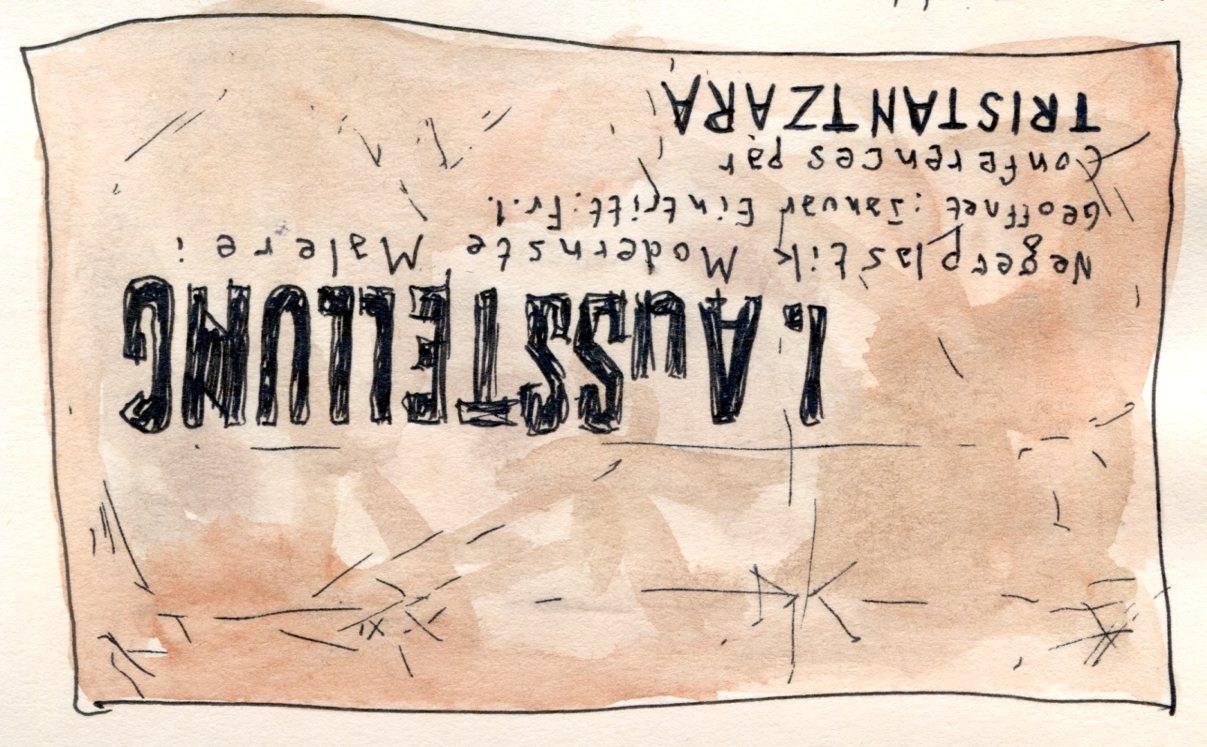 Affiche Tzara