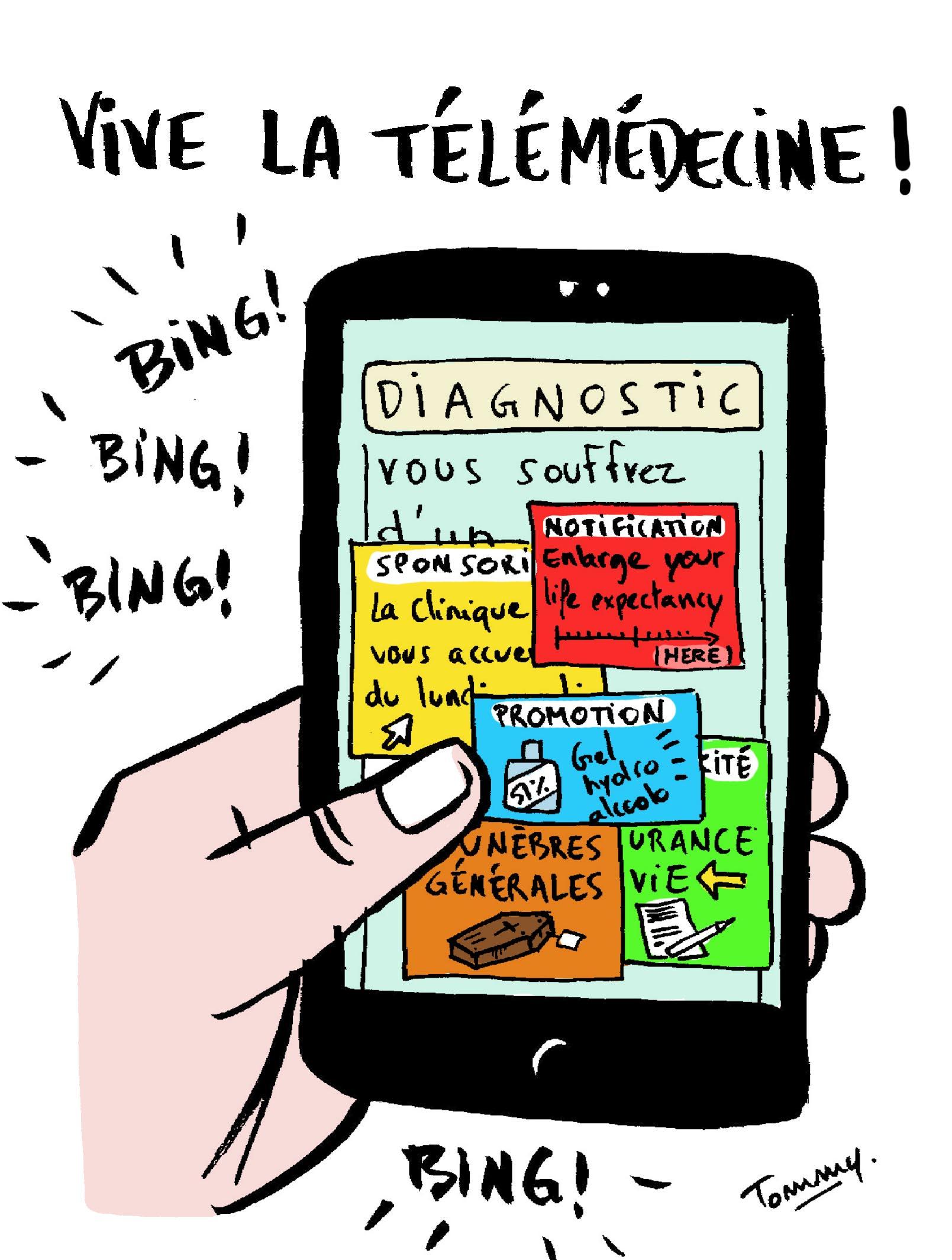 Vive la télémédecine !
