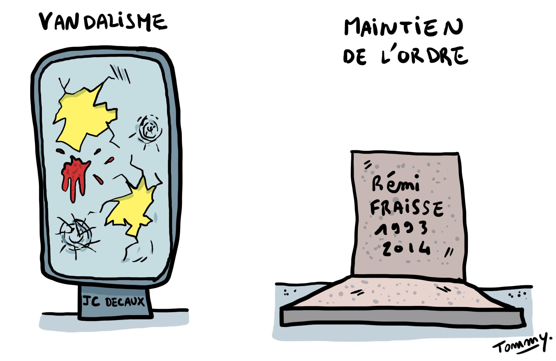 Maintien de l'ordre à la française